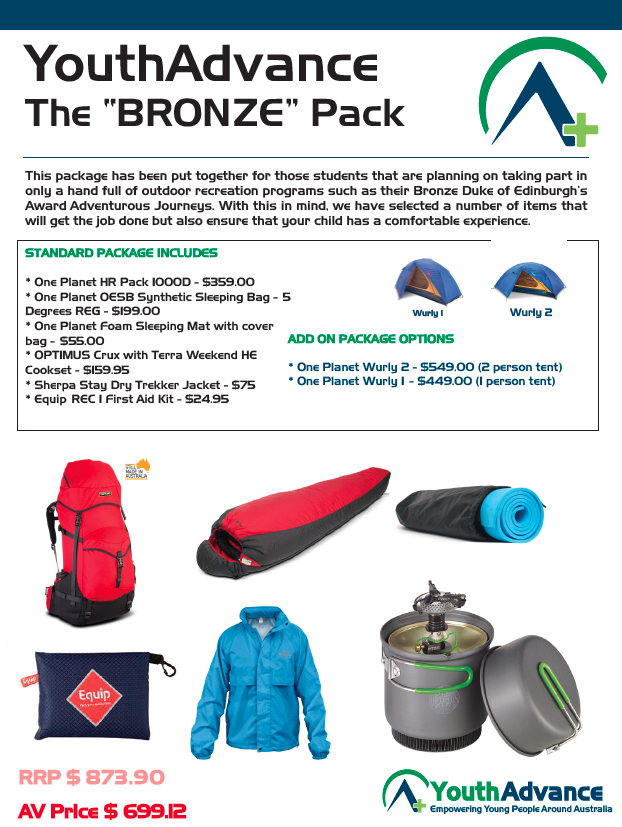 """The """"Bronze Starter"""" Package"""