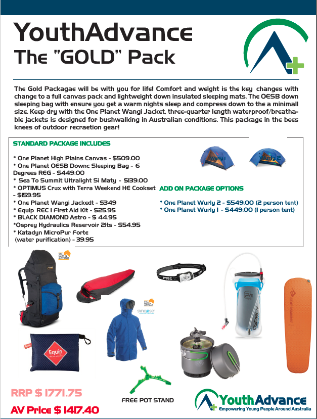 """The """"Gold"""" Package"""
