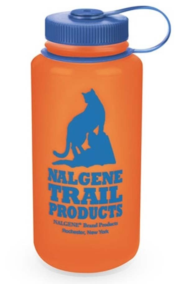 Nalgene Wide Mouth HDPE Loop-Top 1L Water Bottle